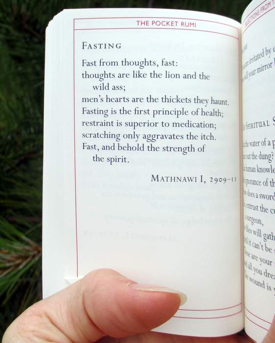 Fasting by Rumi